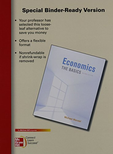 9780077892784: Looseleaf Economics: The Basics and Connect Access Card