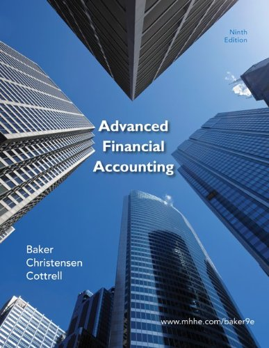 9780077899165: Advanced Financial Accounting with Connect Plus