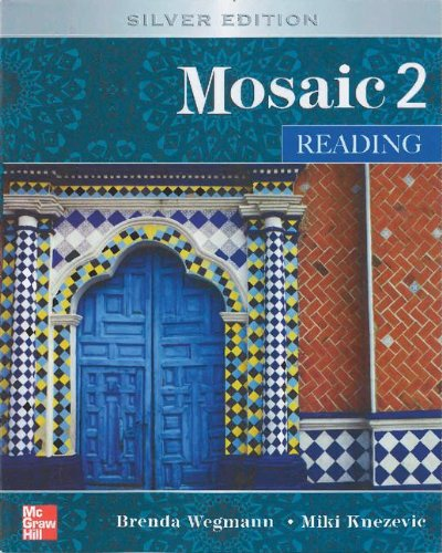 9780077899431: Mosaic Level 2 Reading Student Book; Reading Student Key Code for E-Course Pack