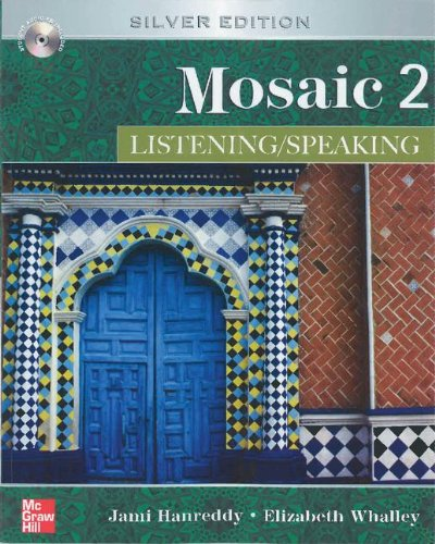 9780077899561: Mosaic Level 2 Listening/Speaking Student Book with Audio Highlights; Listening Speaking Key Code for E-Course Pack
