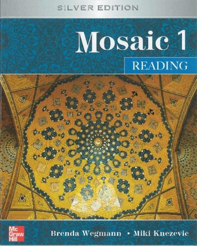 9780077899585: Mosaic Level 1 Reading Student Book; Reading Student Key Code for E-Course Pack