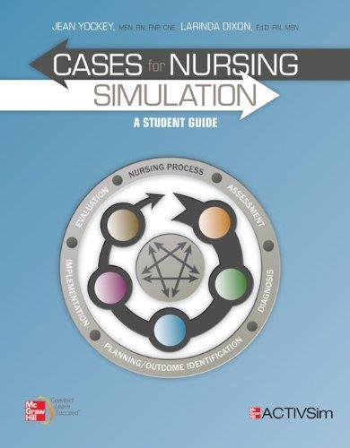 9780077906733: Combo Cases for Nursing Simulation & ACTIVSim Nursing