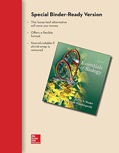 9780077908461: COMBO: Loose Leaf Essentials of Biology w/ Connect Plus Access Card