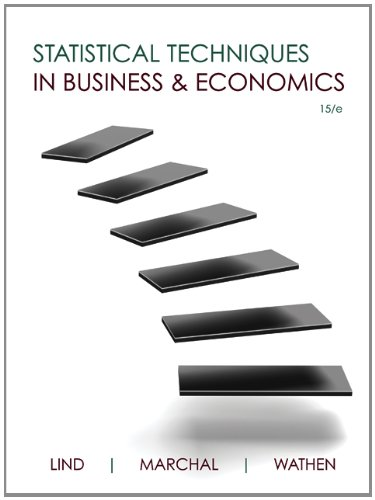9780077911775: Loose Leaf Statistical Techniques in Business & Economics with Connect Access Card