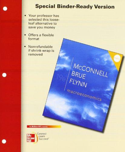9780077911959: Macroeconomics + Connect Plus, 19th Edition