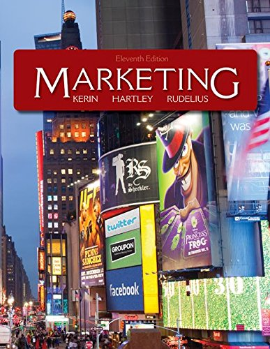 Marketing (9780077919696) by Kerin