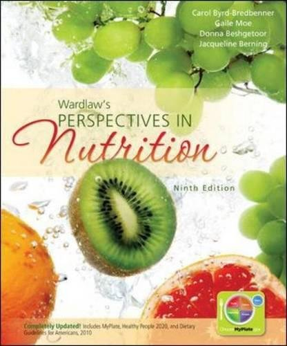 Combo: Wardlaws Perspectives in Nutrition with Connect Plus 1 Semester Access Card: Carol ...