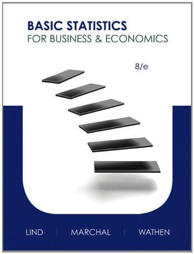 9780077922627: Basic Statistics for Business and Economics with Connect Access Card