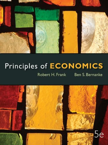 Looseleaf Principles of Economics + Connect Access Card (9780077924737) by Robert Frank; Ben Bernanke