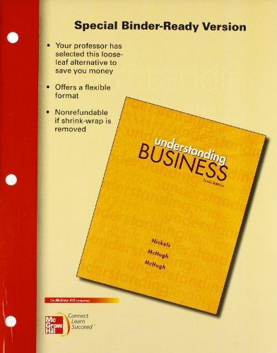 Understanding Business [Nov 10, 2011] Nickels, William;