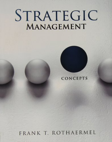 9780077925192: Strategic Management: Concepts with Connect Plus
