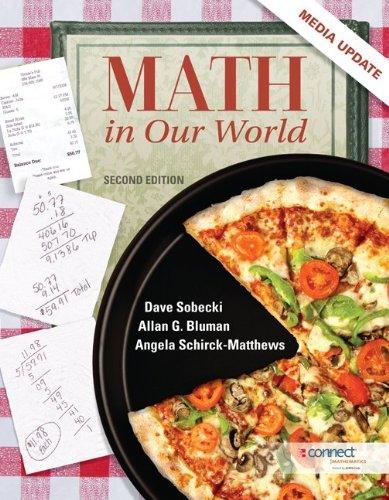 9780077928490: Math In Our World, Media Update with Connect Plus Hosted by ALEKS Corp. Access Card