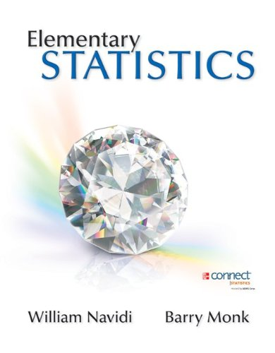 9780077928513: Elementary Statistics with Formula Card and Data CD with Connect hosted by ALEKS Access Card