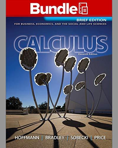 GEN CMBO LL CALCULUS B&E: Laurence D. Hoffmann