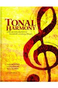 9780077933722: Tonal Harmony with an Introduction to Twentieth-Century Music
