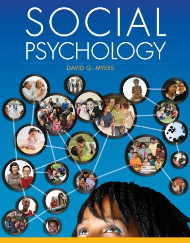 Social Psychology with Connect Access Card: Myers, David
