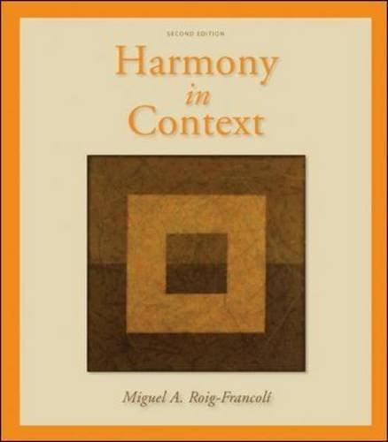 9780077942205: Harmony in Context