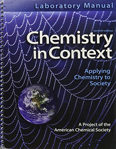 Chemistry in Context with Laboratory Manual: Middlecamp, Catherine H.;