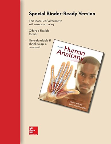9780077967093: Combo: Loose Leaf Version of Human Anatomy with Connect Plus Access Card (Includes APR & PhILS Online)