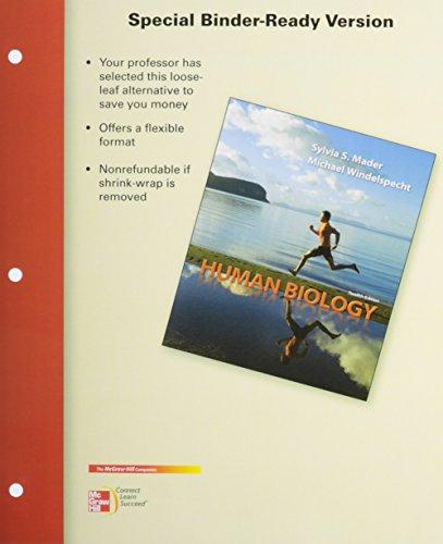 9780077967345: Loose Leaf Human Biology W/ Lab Manual