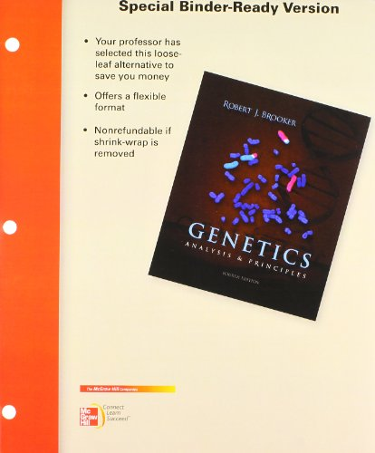 9780077969363: Loose Leaf Genetics w/ Student Study Guide/Solution Manual