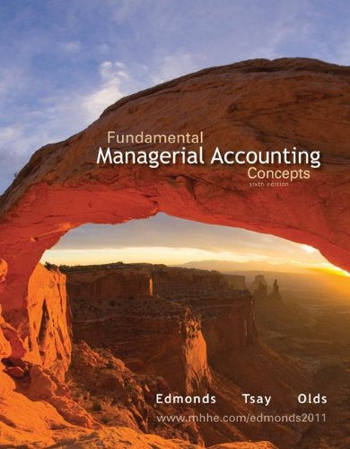 9780077970604: Loose Leaf Fundamental Managerial Accounting Concepts with Connect Plus