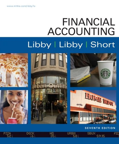 Loose Leaf Financial Accounting with Connect Plus: Libby, Robert, Libby, Patricia, Short, Daniel