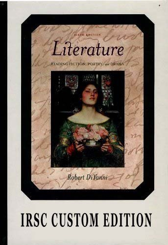 an analysis of literature by robert diyanni Reading images: an approach and a demonstration print this page beginning of content: approaching images students need to learn how to read images, including.