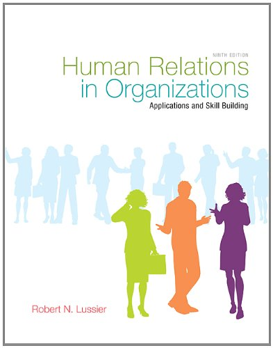 9780077976897: Human Relations in Organizations with Premium Content Code Card