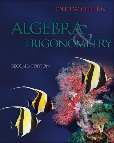 9780077978549: Combo: College Algebra & Trigonometry with ALEKS User Guide & Access Code 1 Semester
