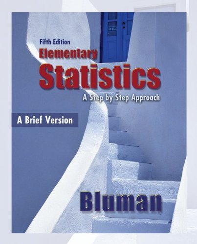 9780078003547: Combo: Elementary Statistics, A Brief Version with Student Solutions Manual