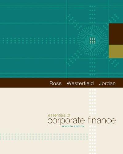 9780078011719: Essentials of Corporate Finance