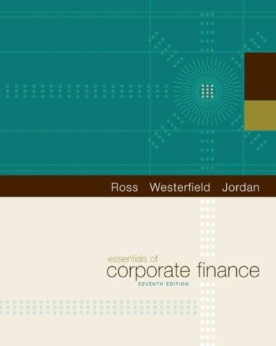 9780078011719: Essentials of Corporate Finance