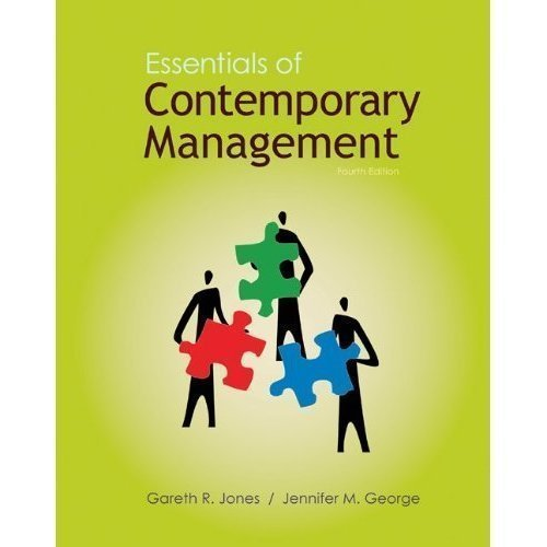 9780078011764: Essentials of Contemporary Management with Connect Plus Access Card