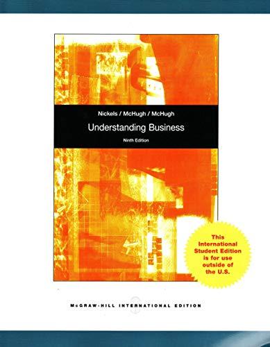 9780078016394: Understanding Business