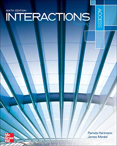 9780078019630: Interactions Access Reading Student Book