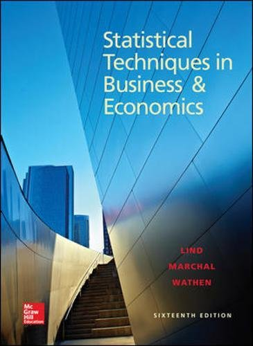 9780078020520: Statistical Techniques in Business and Economics, 16th Edition