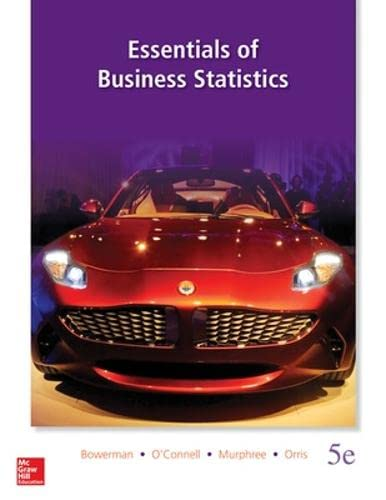 9780078020537: Essentials of Business Statistics