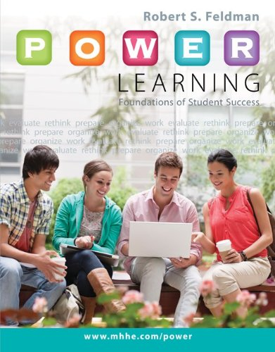 9780078020933: P.O.W.E.R. Learning: Foundations of Student Success