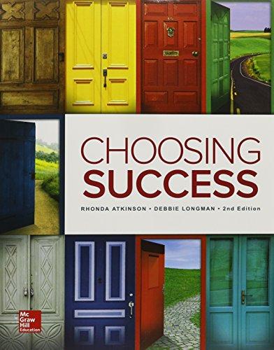 9780078020940: Choosing Success (Student Success)