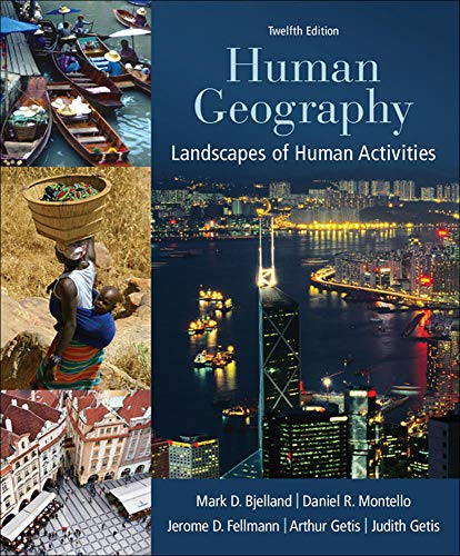 9780078021466: Human Geography: Landscapes of Human Activities (WCB Geography)