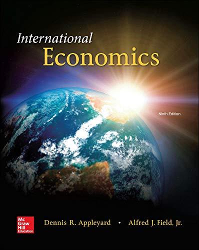 9780078021671: International Economics (McGraw-Hill Economics)