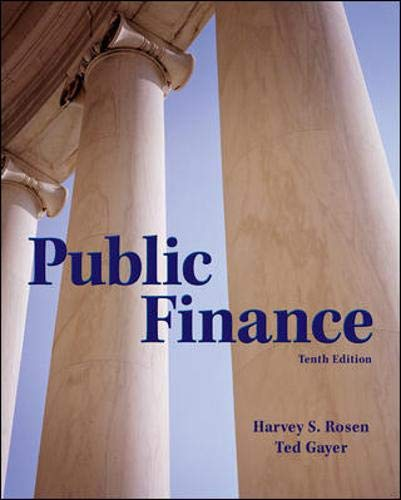 9780078021688: Public Finance (The McGraw-Hill Series in Economics)