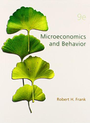 9780078021695: Microeconomics and Behavior (Mcgraw-Hill/Irwin Series in Economics)