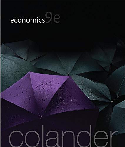 Economics: Colander, David