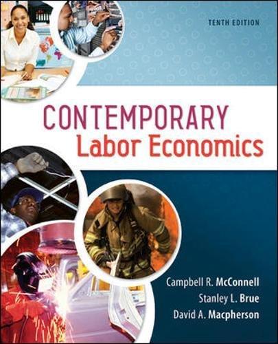 9780078021763: Contemporary Labor Economics (The Mcgraw-Hill Series Economics)
