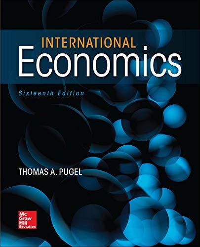 9780078021770: International Economics (Mcgraw-hill Series in Economics)