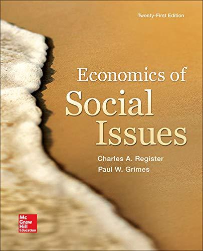 9780078021916: Economics of Social Issues