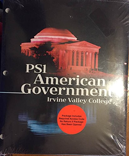 9780078022036: American Government - Irvine Valley College (PS 1)