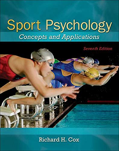 9780078022470: Sport Psychology: Concepts and Applications